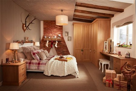 Chapter Fitted Bedroom Furniture Range in Oak