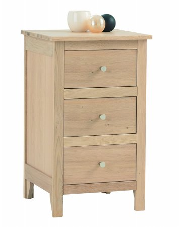 Nimbus 3 Drawer Bedside Chest