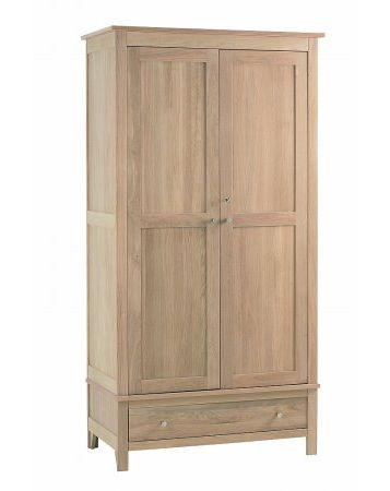 Nimbus Double Wardrobe with Drawer