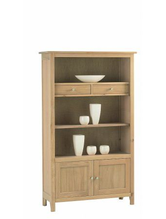 Nimbus Medium Bookcase with Cupboard & Drawers