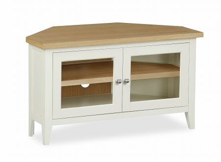 Tetbury Corner TV Unit with Doors
