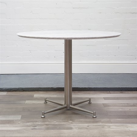 Cortina Circular Table in Marble
