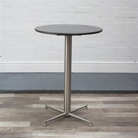 Cortina Stool Table in Black Granite