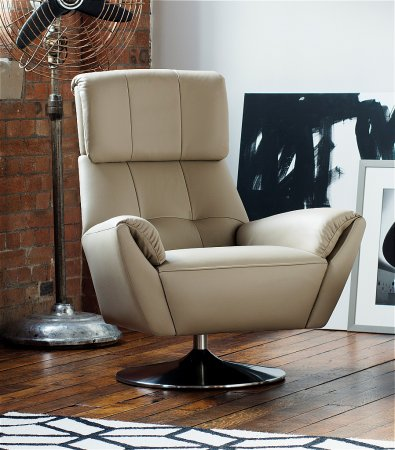 Evolution 1703 Leather Swivel Chair