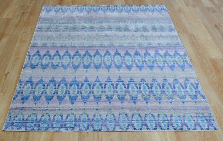 Aqua Silk E165A Navy Blue Rug