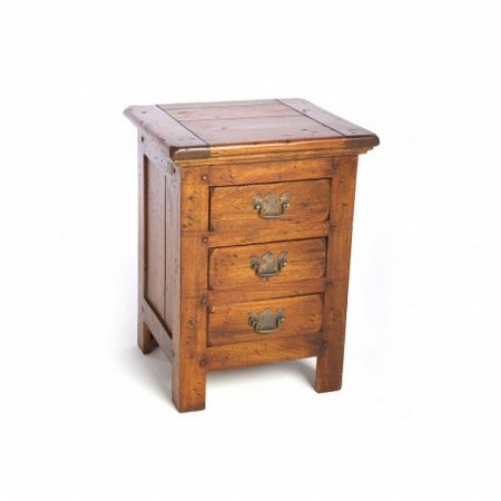 East Indies 3 Drawer Chest