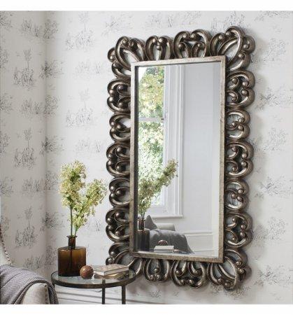 Mirror Fenton Antique Silver