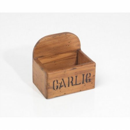 Vintage Garlic Box