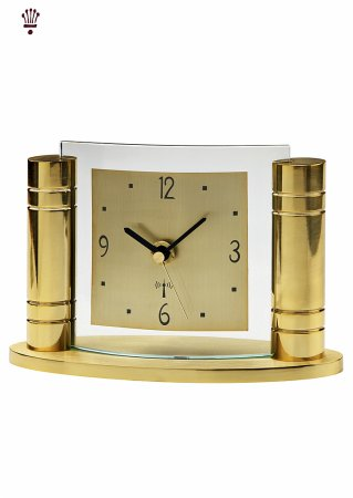Greek Gold Mantel Clock