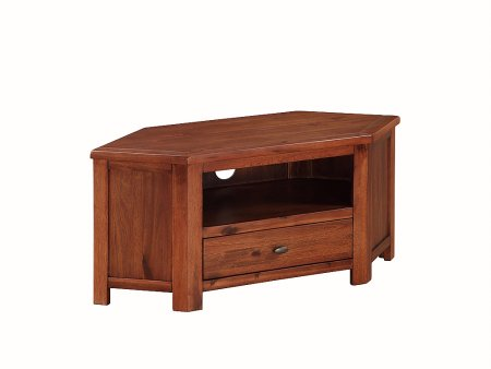 Hampshire Acacia Corner TV Unit