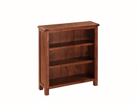 Hampshire Acacia Low Bookcase