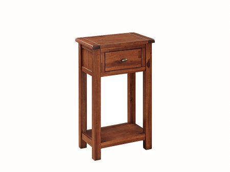 Hampshire Acacia Medium Hall Table