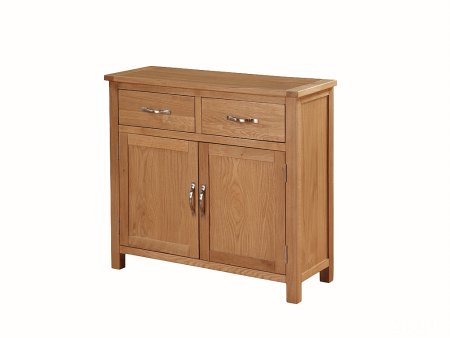 Hampshire City Oak 2 Door Sideboard