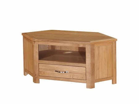 Hampshire City Oak Corner TV Unit