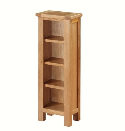 Hampshire City Oak DVD Unit