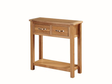Hampshire City Oak Large Hall Table