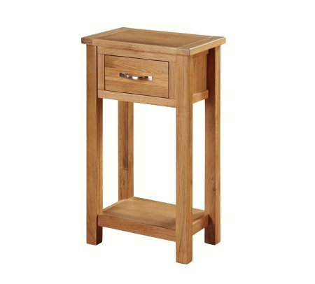 Hampshire City Oak Medium Hall Table