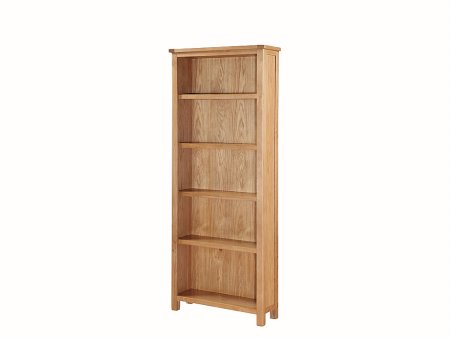 Hampshire City Oak Tall Bookcase