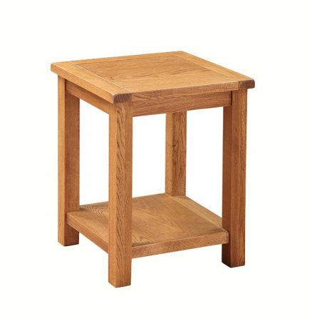 Country Oak End Table