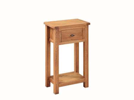 Country Oak Medium Hall Table
