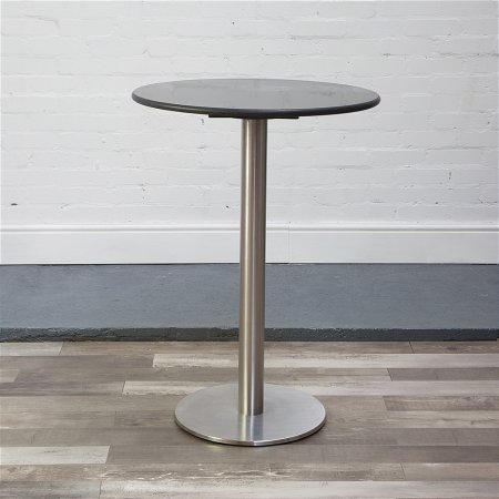 Helsinki Stool Table in Black Granite