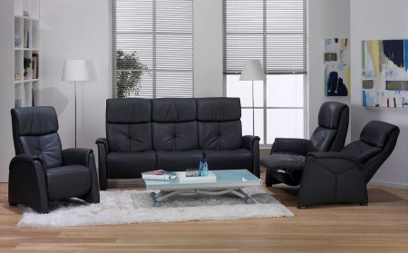 Humber Cumuly Leather Recliner Suite
