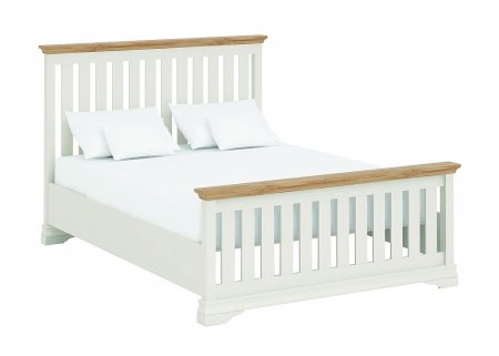 Annecy Oak Kingsize Imperial Bed High Footend