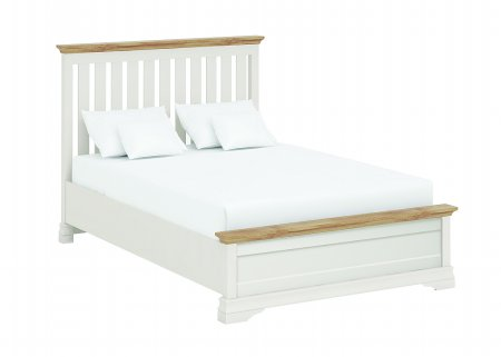 Annecy Oak Imperial Bed Low Footend