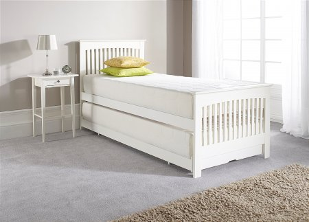 Juno Guest Bed in White