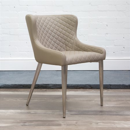 Kate Dining Chair in Taupe
