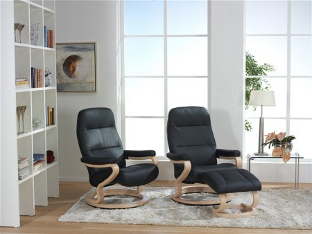 Kennet Zerostress Leather Recliner