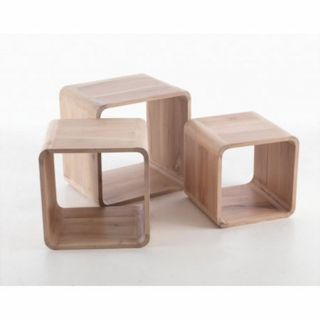 Laura Set of 3 Cubes