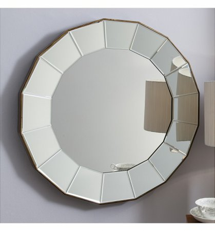 Mirror Lindley Round Bevelled Glass