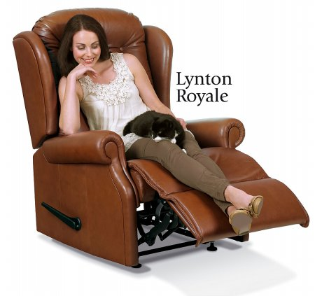 Lynton Leather Recliner Chair