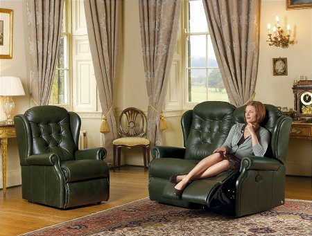 Lynton Leather Suite