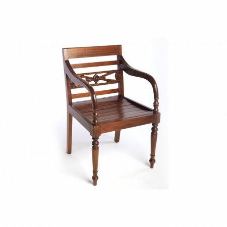 Mahogany Village Raffles Chair