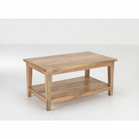 Metro Coffee Table with Shelf