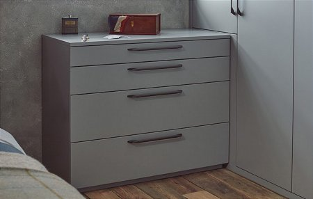Modern 4 Drawer Chest