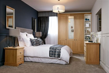 Origin Fitted Bedroom Furniture Range in Oak