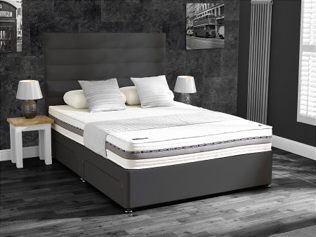 Performance 220 Divan Bed with Regular or Firm Mattress