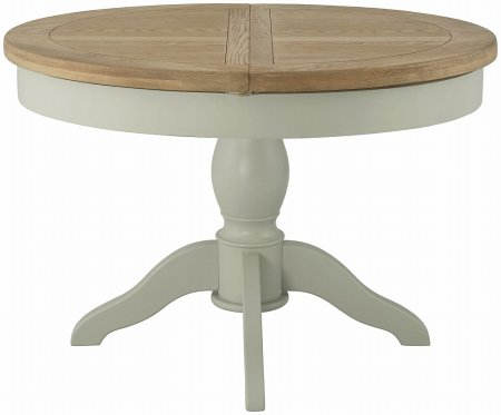 Portland Painted Extending Round Dining Table