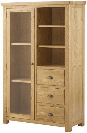 Hartford Grand Oak Display Unit