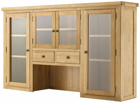 Hartford Grand Oak 4 Door Dresser Top