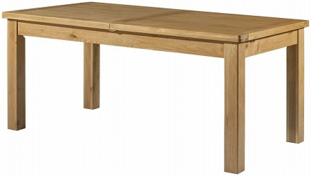 Hartford Grand Oak Extending Dining Table