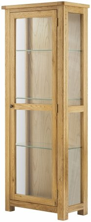 Hartford Oak Glazed Display Cabinet