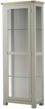 Hartford Painted Glazed Display Cabinet