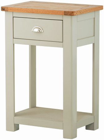 Portland Painted 1 Drawer Small Console Table