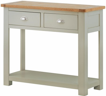 Portland Painted 2 Drawer Console Table