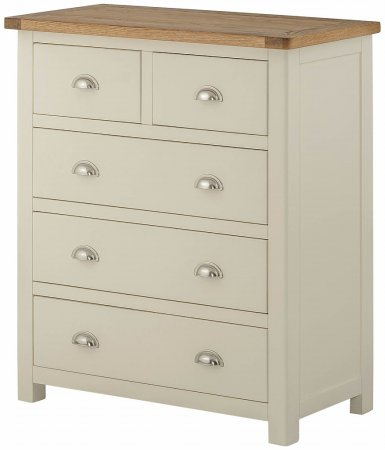 Portland Painted 3+2 Chest of Drawers