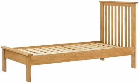 Hartford Oak 90cm Single Bed